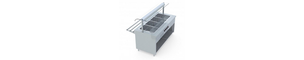 Stainless Steel Self Service Line