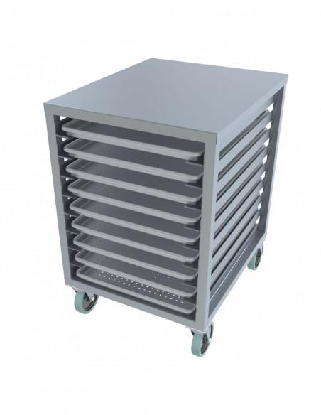 معدات حفظ و نقل الطعام من الفولاذ المقاوم للصدأ