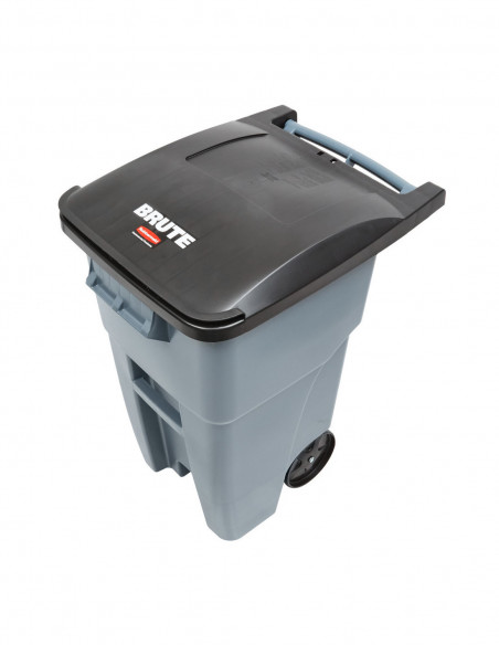Trash Cans and Recycling Containers