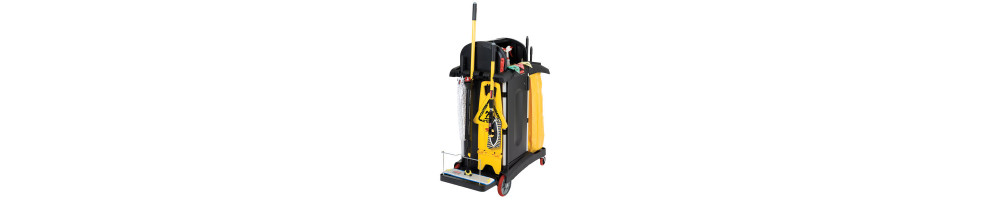 Cleaning Carts and tools