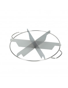 Alegacy STAINLESS STEEL PIE CUTTER 6cuts