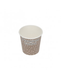 Arkan Premium coffee Single wall cups 12oz with lids