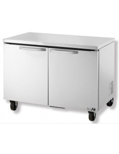 TruAir TUC-48F Two Doors Under-Counter Freezer