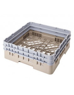 Cambro BR578119  Sherwood Green Camrack Full Size Open Base Rack