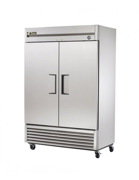 True T-49 Two Doors Reach In Refrigerator