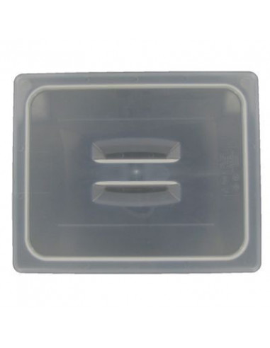 غطاء 20PPCH190 الشفاف لوعاء طعام بنصف الحجم مزود بمقبض من كامبرو