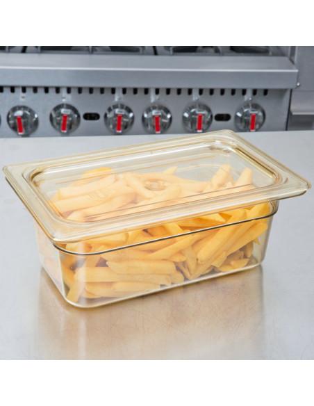 """وعاء حراري للأطعمة سعة 2.5 لتر وعمق 4"""" لدرجات الحرارة العالية"""