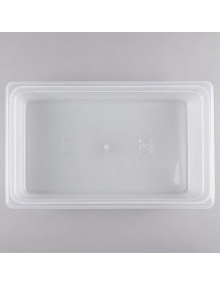 """وعاء طعام شفاف كام وير سعة 13 لتر وعمق 4"""" بمقاس كبير 11 من"""