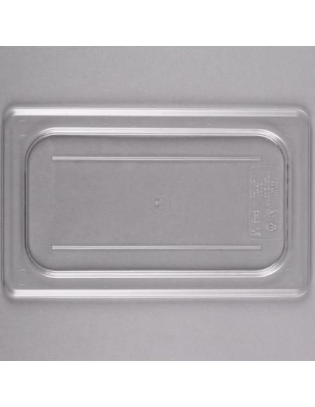 غطاء مسطح شفاف بمقاس 14 من البولي كربونيت من كامبرو