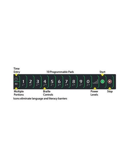 مايكرويف للاستخدام المكثف بقوة 1800 واط (MDC182) من منيوماستر