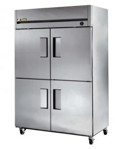 True TM-52-4 Half Doors Top Mount Reach-In Refrigerator