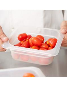 وعاء طعام شفاف بمقاس 1/6 وعمق 2.5 بوصة (62PP190) من كامبرو