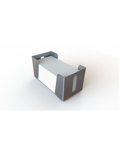 Stainless steel Tabletop Squared Napkin Holder