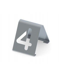 Miran Stainless steel Tabletop cutout numbers sign 1-25