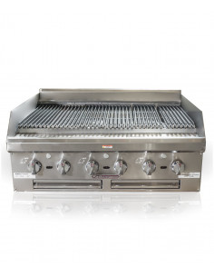 """Southbend HDCL-60 Lava Rock Gas Charbroiler 60"""""""