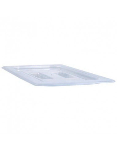 Cambro® 40PPCH190 Translucent 1/4-Size Food Pan Cover