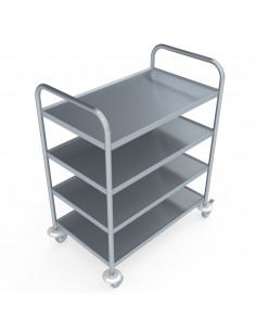 Miran Stainless Steel Service Trolley