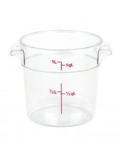 وعاء كاموير المستدير و الشفاف لتخزين الطعام من كامبرو