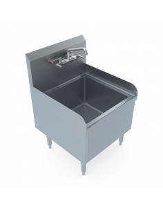 Miran Stainless Steel Stand-Alone Mop Sink