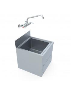 حوض غسل ممسحة الأرضيات مصنوع من الفولاذ المقاوم للصدأ من مِران