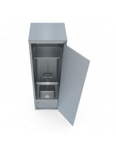 خزانة حوض غسل ممسحة الأرضيات مصنوعة من الفولاذ المقاوم للصدأ من مِران