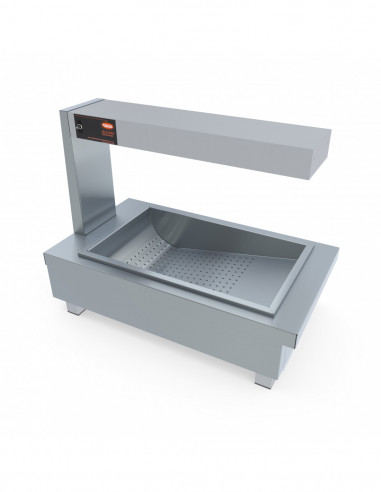 Miran Stainless Steel Countertop Dump Station