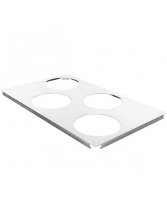Rational 60.73.212 Small Roasting / Baking Pan Carrier Tray - 4