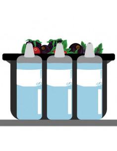 Puracycle Bottlewrap Labels, Plain, 25 Pack