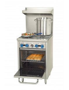 Castle F318 4 Burners Gas Range with Oven