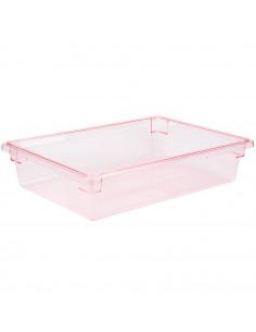 صندوق تخزين الطعام Camwear مصنوع من البولي كربونات باللون الأحمر بأبعاد 26 × 18 × 6 بوصة 18266CW467 من كامبرو