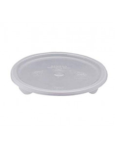Cambro RFSC2PP190 Translucent Lid for Cambro Translucent 2 and