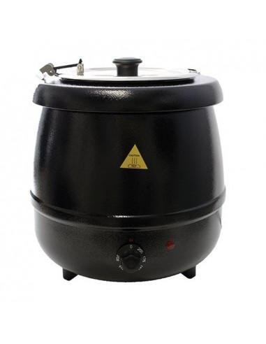 (GSB-12) وعاء تسخين الشوربات باللون الأسود