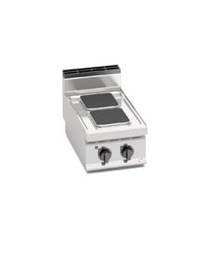 Berto's E7PQ2B Countertop Electric 2 Hot Plate