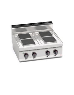 Berto's E7PQ4B Countertop Electric 4 Hot Plate