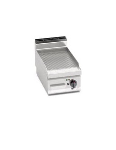 """Berto's E7FR4BP Countertop Electric Griddle Ribbed Plate 15"""""""