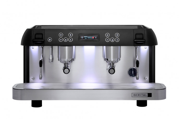 Iberital Expression Pro 2 Groups Espresso Machine - Dual Boiler