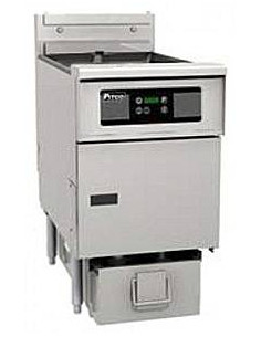 Pitco SE18S/FD Electric Fryer With Digital Control and built in