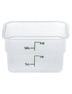 وعاء حفظ الطعام 2SFSPP190 كام سكوير شفاف من كامبرو