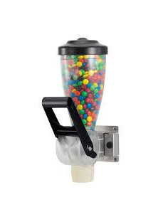 Server Wall-Mount dry Food Dispensers- single