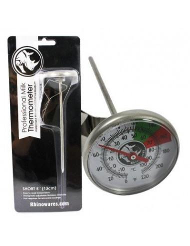 "Rhinowares Milk Thermometer Short Stem 5"""