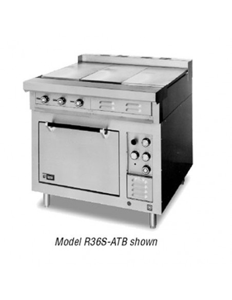 (R36S-ATD) فرن + شواية لانج الكهربائي  شديد التحمل