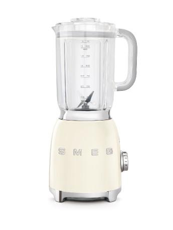 Smeg 50's Retro Style Aesthetic Blender (800 W Motor,3 Functions, 4 Speeds), Cream