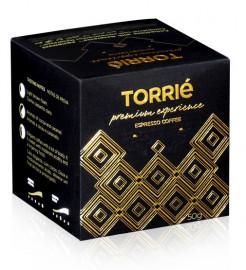 علبة كبسولات قهوة بريميم اكسبيرينس تحتوي على 10 كبسولات مناسبة لآلة نسبريسو من توري