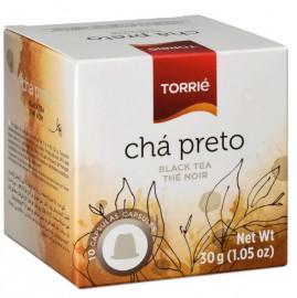علبة كبسولات الشاي الأسود تحتوي على 10 كبسولات مناسبة لآلة نسبريسو من توري