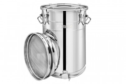 Bohara 100 Liters, Stainless Steel Honey Drum