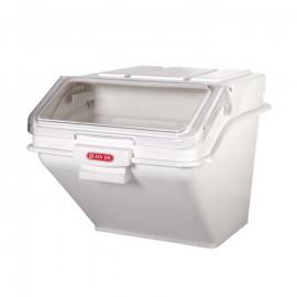صندوق طحين أبيض اللون سعة 20 لتر من رويال وير