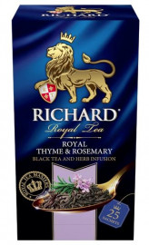 Richard Thyme & Rosemary Black Tea and Herb Infusion Bags