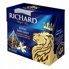 Richard Royal Miss Grey Tea Bags