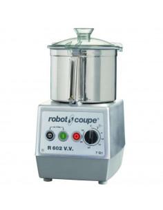 محضرة الطعام العمودية بسعة 60 لتر و 120 فولت (R602VVE) من روبوت كوب