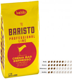 Baristo Crema Bar Espresso Coffee Beans - 1 Kg